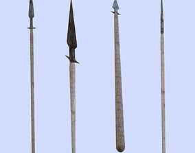 Hunting Spear 3D asset