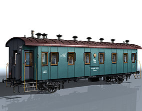 2-axle passenger car 3D model