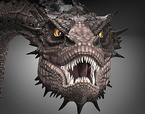 3D model Smaug Hobbit Dragon