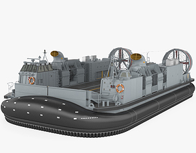 3D model Landing Craft Air Cushion