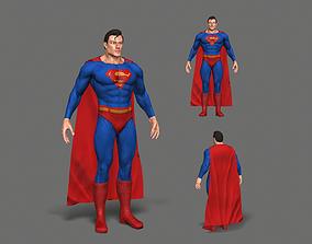 Superman 3D asset