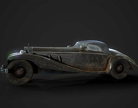 Old Wrecked car 3D model