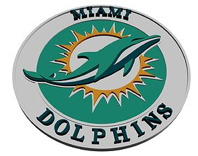 Miami Dolphins large 3D model