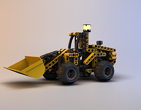 3D model Lego Technic - Front End Loader - 8453
