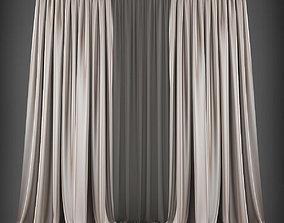 3D model realtime Curtains textile