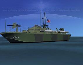 Patrol Torpedo Boat PT84 3D
