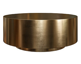 Ibiza Brushed Brass Coffe Table by Modshop 3D