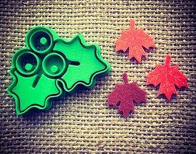 3D print model Mistletoe Cookie Cutter