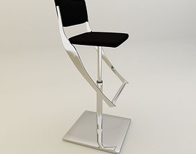 bar chair for home 3D model