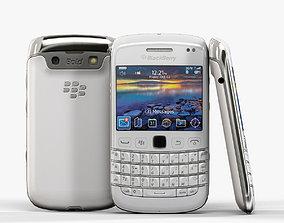 BlackBerry Bold 9790 White 3D asset