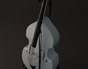 A nice cello with bow models 3D model