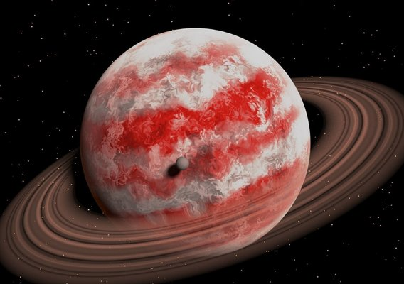 Sci-fi photo of Gas Planet