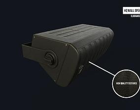 3D model Wall Mounted Speaker