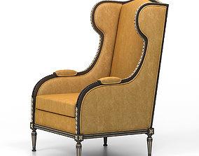 sofa wingback Chair 3D model