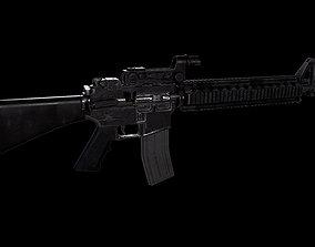 3D asset M16 A4