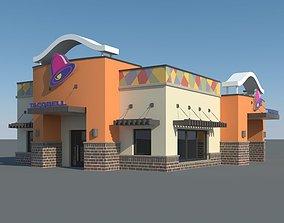 Taco Bell Restaurant 3D