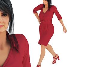 3D thatre Sandra Bullock Pose 2