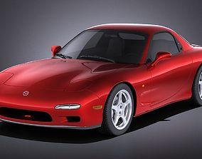 3D model Mazda RX-7 1992-1996 VRAY