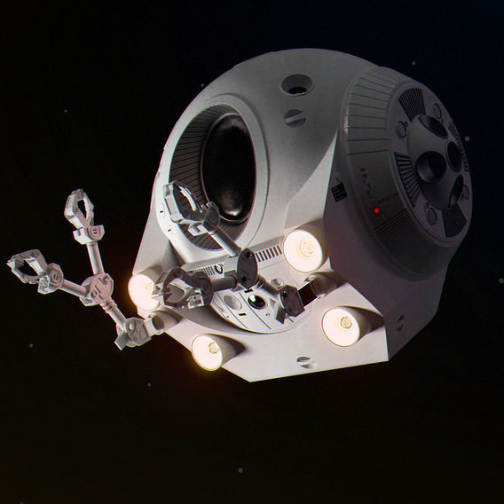 Space Odyssey 2001 - EVA POD