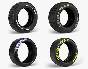 Tires Collection 3D