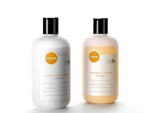 3D model DANI Naturals Conditioner and Shampoo