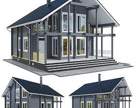 House villa 3D