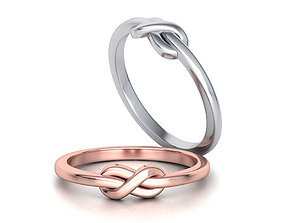 The Knot Forever Infinity ring 3dmodel