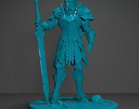 Knight Miniature 3D Printable Model