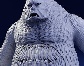Bigfoot 3D Print Model creature
