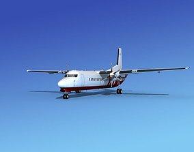 Fokker 50 Corporate 3 3D