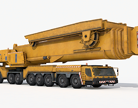 Industrial Mobile Crane 3D model