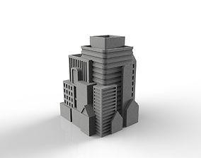 City Pencil Case 3D printable model