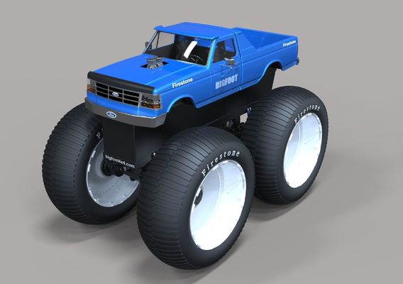 Bigfoot 5 Largest Monster Truck
