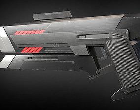 3D model Raygun Blaster