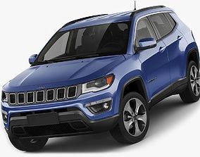 3D model Jeep Compass 2017