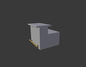 simple bar 3D asset