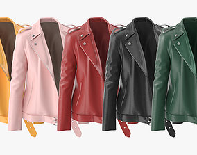 3D model Womens Leather Jackets