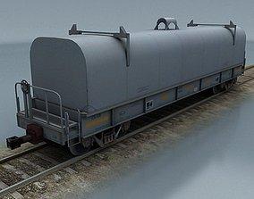 rail wagon 5 3D model