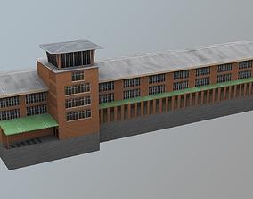 3D asset Airport Control Tower UDYZ KDP
