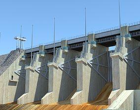 Wivenhoe Dam 3D asset