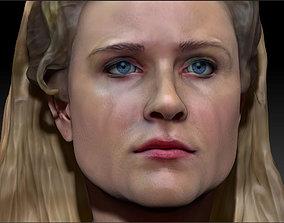 Dolores Abernathy Westworld 3d Print model Evan Rachel 1