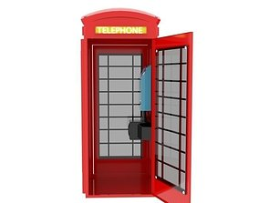 Telephonebooth 3D model