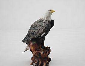 Black Eagle 3D model realtime
