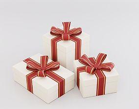Gift Box present 3D
