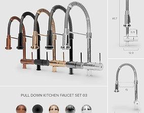 3D Pull-Down Kitchen Faucet Set 03