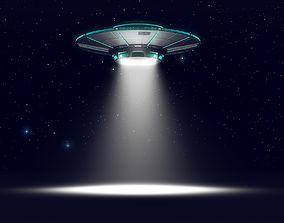 Alien UFO 3D model ufo