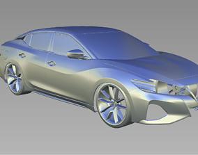 2019 NISSAN MAXIMA 3D Scan Data 3D model 3D print model