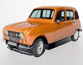youngtimer 3D Renault R4L