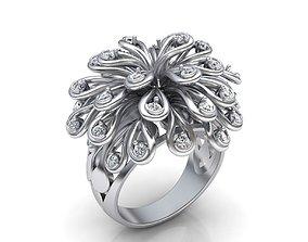3D print model Fashion Diamond ring