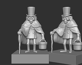 Haunted Mansion Hatbox Ghost 3D printable model
